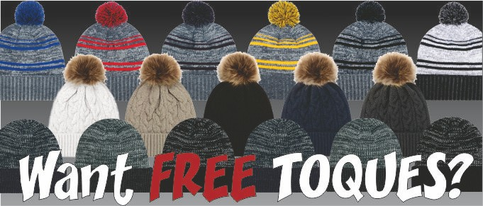 Brrr.... it's time for TOQUES!