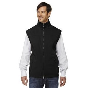 NORTH END Men's Three-Layer Light Bonded Performance Soft Shell Vest