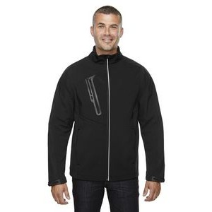 NORTH END Men's Terrain Colorblock Soft Shell with Embossed Print