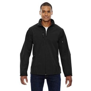 NORTH END Men's Compass Colorblock Three-Layer Fleece Bonded Soft Shell Jacket