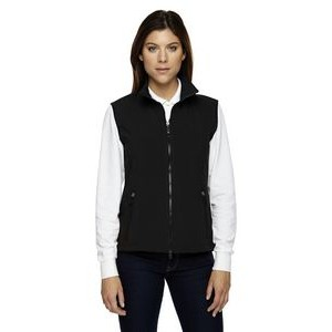 NORTH END Ladies' Three-Layer Light Bonded Performance Soft Shell Vest