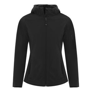 Ladies' Coal Harbour® Essential Hooded Soft Shell Jacket